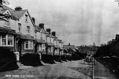 000992 Looking down New Road 1928