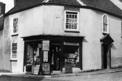 001007 P S Bowden's shop on corner of New Road