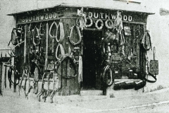 003056 Jim Southwood Saddlers and harness makers shop c1925