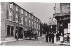 000003 View from Market Square into North Street with the George Hotel on the right c1905