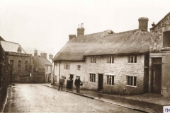 000007 North Street cottages and residents c1900's