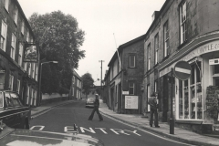 000010 Veiw looking up North Street with Chapple and Reid newsagents & stationers on the right c1970's