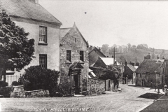000469 North Street junction with High Street showing Old Masonic Hall c1920