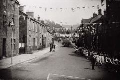 000017 George V Silver Jubilee parade walking down East Street, Ilminster 1925