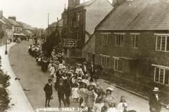 000051 School Treat, Silver Street, Ilminster 1908