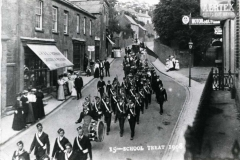 000495 School Treat, East Street, Ilminster 1908
