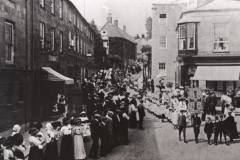 000988 Sunday School Whitsun Parade, North Street, Ilminster c1912