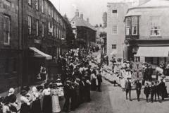 000988 Sunday School Whitsun Parade, North Street, Ilminster c1912