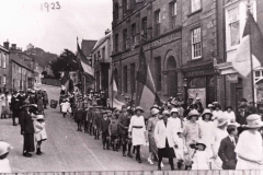002038 Sunday School Whitsun Parade, East Street, Ilminster 1923