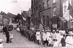 002038 Sunday School Whitsun Parade, East Street, Ilminster 1923