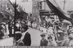 002040 Sunday School Whitsun Parade, North Street and Square, Ilminster 1923