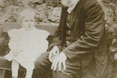 000675 George Trott and his grandson George Hurlstone 1912