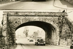 000100 Demolition of railway bridge over Station Road, Ilminster (originally A303 pre Ilminster bypass) 1969
