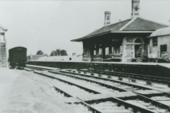 002377 Ilminster Railway Station c1900