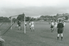 002469 Football match at the 'Rec', Ilminster c1950