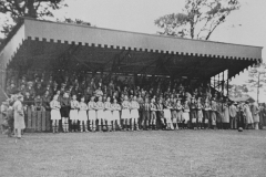 002650 Opening of grandstand at Ilminster Football Club c1938
