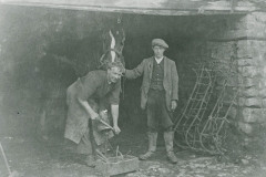 000933 The blacksmith shop c1920