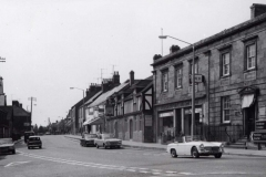 000057 West Street view from the Triangle with the Crown Hotel on the right 1972