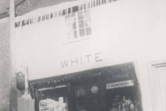 000466 White's shop and snowfall West Street c.1970