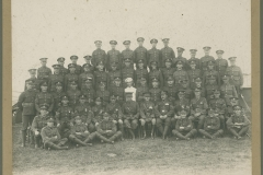 000266 D Company, 2/5 Battalion Somerset Light Infantry, Ilminster featuring C White, G Tutcher, Hoskins, Burt, Gould, Dick Mitchell, J H Blake, Dusty Millard, Gale, Turner, Potter and Will Tutcher c1930
