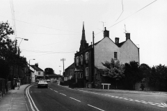 000107 Top of Station Road with the entrance to Summerlands on the right c1970