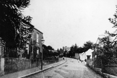 000455 View up Station Road c1900