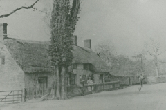 000724 Thatched house c1900