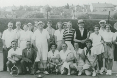 000604 Ilminster Tennis Club c1950