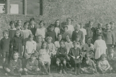000754 Seavington school children c1920