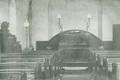 000765 Interior of Methodist Chapel at Lower Seavington c1900