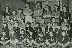 000768 Seavington scouts and cubs c1955