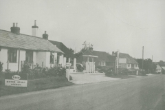 000772 Garage and filling station on Main Road 1950