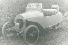 000258 Three wheeler car registration YB 1498, built by W G T Watts, Ilminster 1924