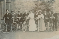 000264 Wesley Guild Cyclists Club, Ilminster 1907