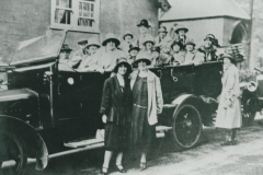 000546 Methodists ladies group in charabanc, Ilminster c1920