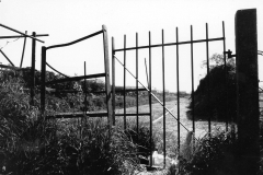 003050 Kissing gate at the end of Wharf Lane, Ilminster 1997