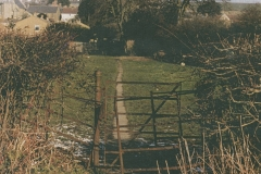 003128 Kissing gate into Brewery Field from Wharf Lane, Ilminster c1980