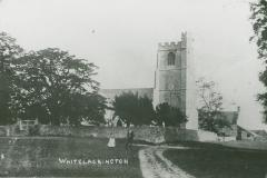 000727 Whitelackington Church c1900