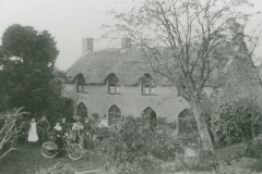 000730 The Cottage, the home of the Denman family, butchers for at least three generations c1900