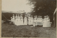 000619 Red Cross 'Field Day', Ilminster including Mabel Duke and Miss Parsons c1913