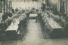 000313 Welcome Home Dinner at the George Hotel, Ilminster 1946