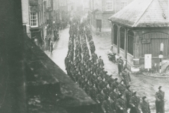002552 Royal Tank Corps parade in East Street, Ilminster 1939