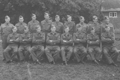 003181 Ilton Home Guard featuring Alan May, Harold Trott, Fred Brice, Syd Faulkner, Sam Crabb, Jack Crabb, Reg Trott, Vic Warfield, Arthur Bond, John Tancock, Dick Cox, Tom Horsey, Newman, Fred Offer, Don Baker, Old and Vic Warfield c1942